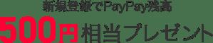 lead present500yen 300x61 - PayPayキャンペーン第2弾