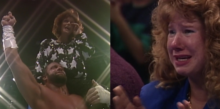 randy savage miss elizabeth wrestlemania 7
