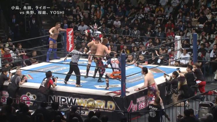 njpw invasion attack nagata kojima liger vs yano sakuraba yoshihashi