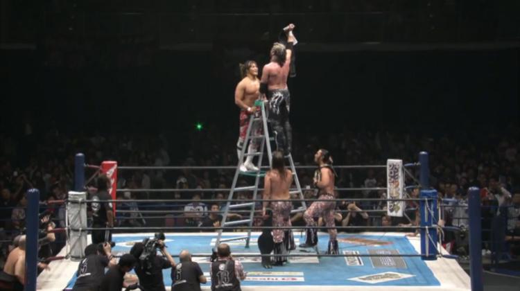 njpw wrestling dontaku kenny omega young bucks vs tanahashi michael elgin yoshitatsu