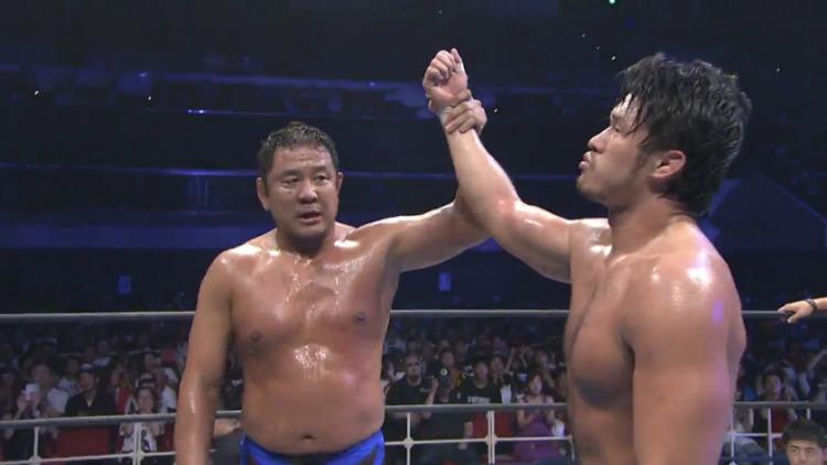njpw dominion 2016 shibata vs nagata
