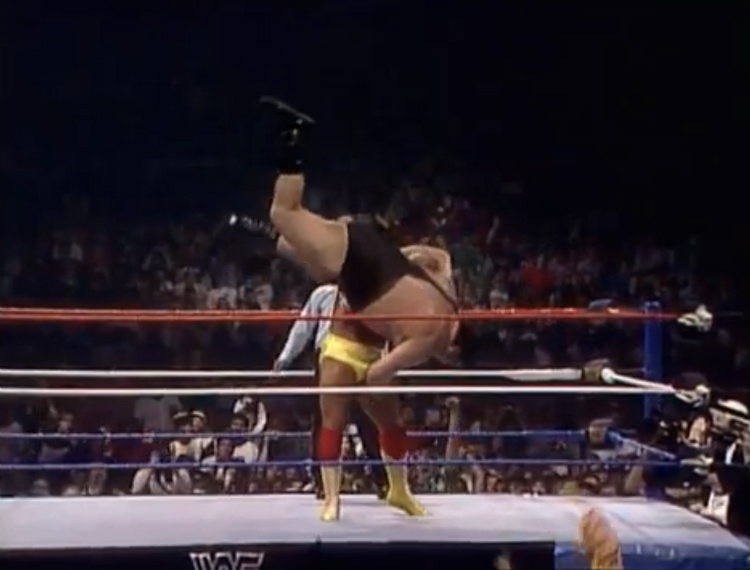 wwf wrestlemania 3 hogan vs andre