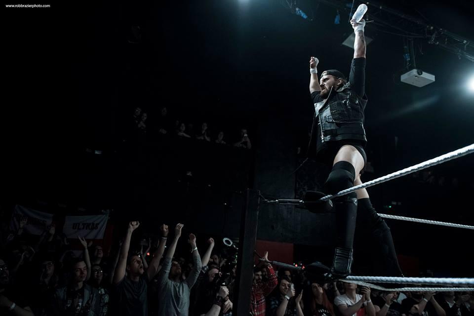 Progress Wrestling on kohonnut yhdeksi Englannin kuumimmista promootioista kotimaisten tähtien kuten Mark Haskinsin avulla. Kuva: Rob Brazier Photography / Progress Wrestling.