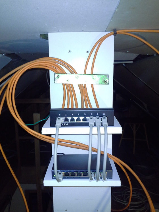 Patchpanel vernetzung