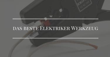 Elektriker Werkzeug