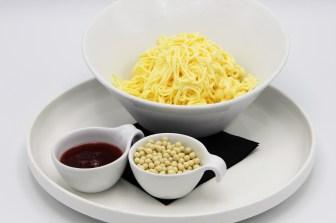 smartijs - ijscoupe spaghetti ijs