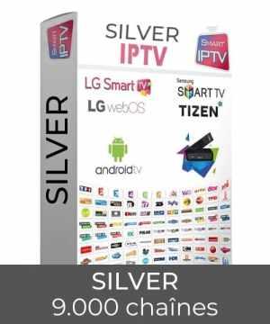Abonnement SMARTIPTV FRANCE Silver liste des chaines