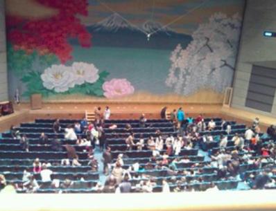 2階席からの見え方の画像