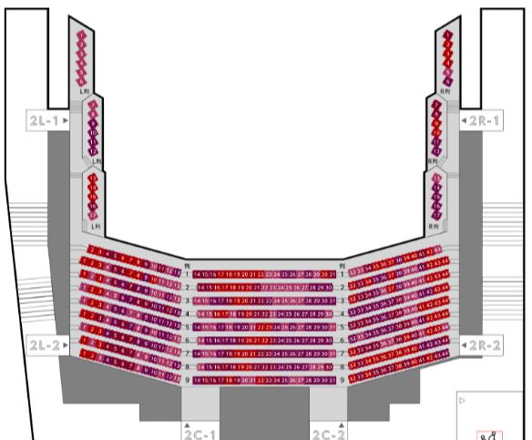 渋谷公会堂(LINE CUBE SHIBUYA)の座席表とキャパは?