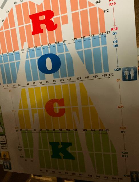 幕張メッセ4〜6ホールの座席表とキャパは?