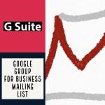 GsuiteでGoogleグループを利用してメーリングリストを作成したさいにした細かな設定