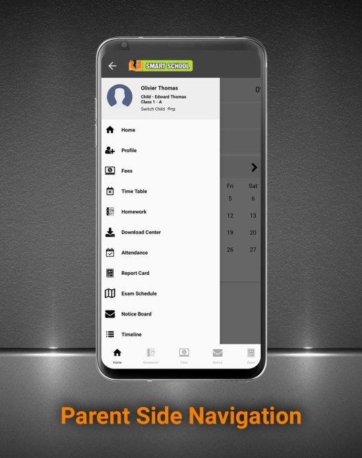 Smart School Android App - Mobile Application for Smart School - 5