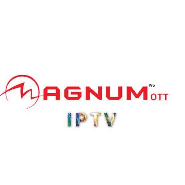 Abonnement IPTV MAGNUM OTT 12mois