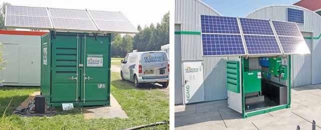 Green generator by Maru Systems; Solar-Powered Generators