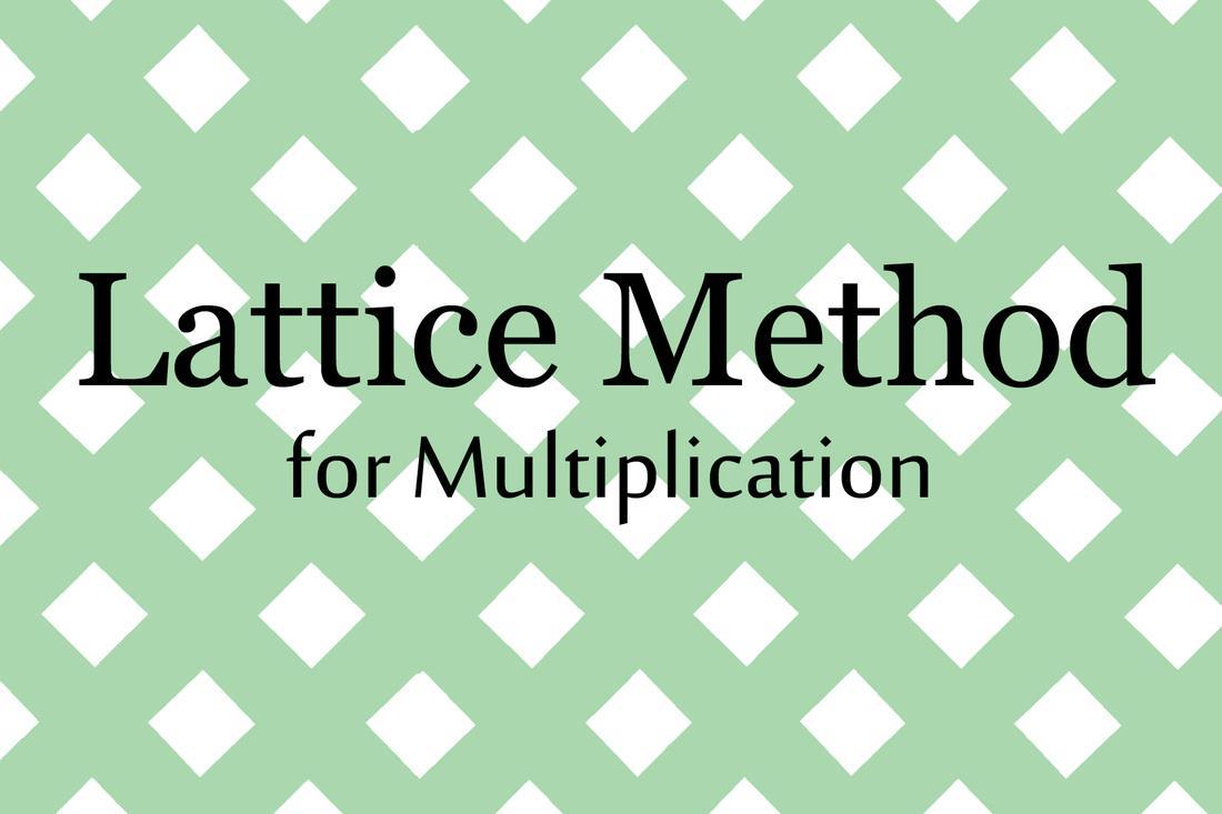 Lattice Method Of Multiplication Worksheets Pdf