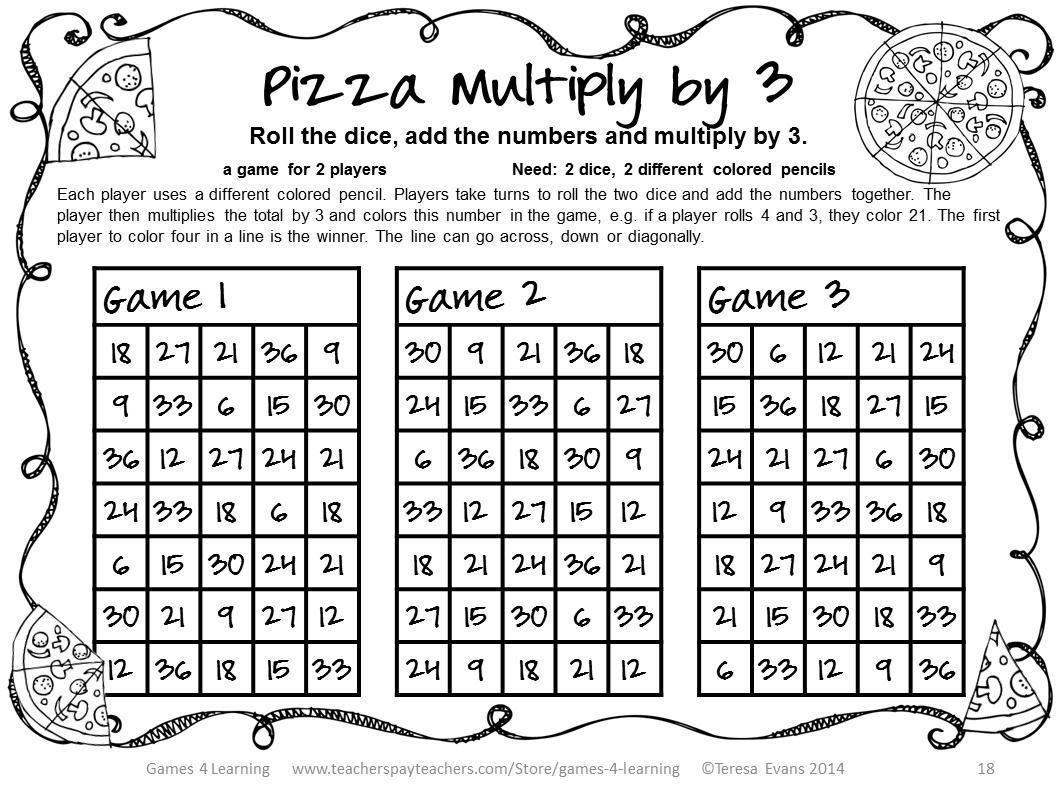 Learning Multiplication Worksheets Grade 3