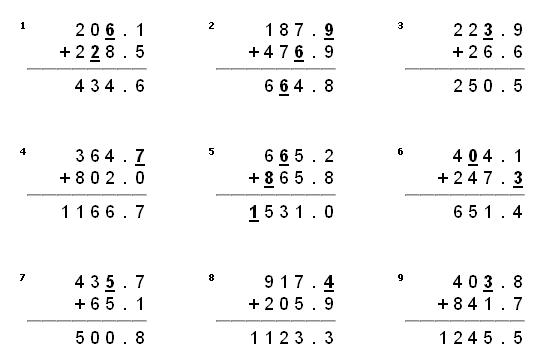 Multiplication Worksheets And Answer Key 5