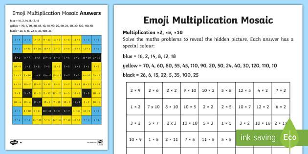 Multiplication Worksheets Australia 4