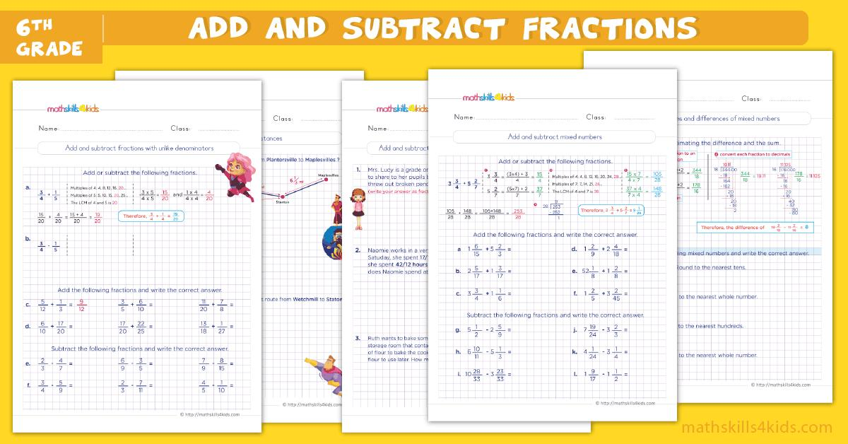 Multiplication Worksheets Class 6 3