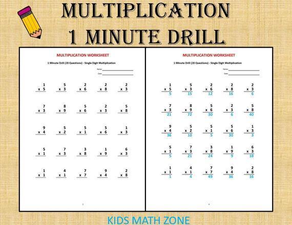 Multiplication Worksheets For 3rd Grade Word Problems