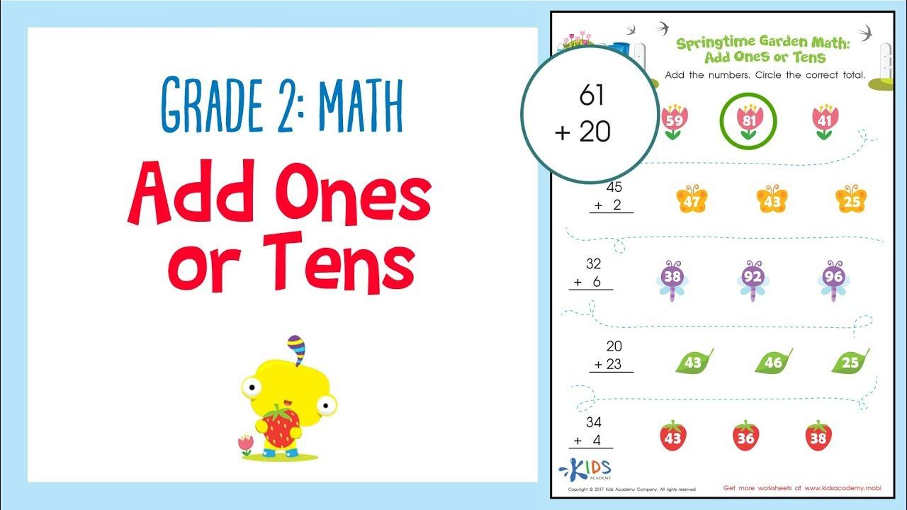 Multiplication Worksheets Grade 2