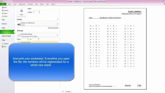 Multiplication Worksheets In Excel 8