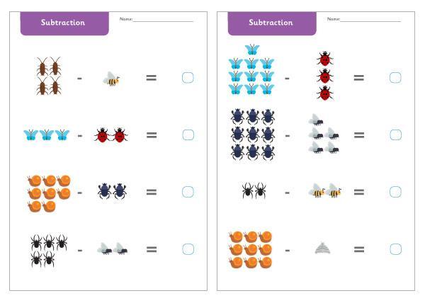 Subtraction Worksheets For Grade 3