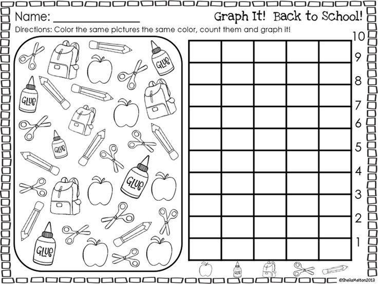 Free Printable Graphing Worksheets For Preschool