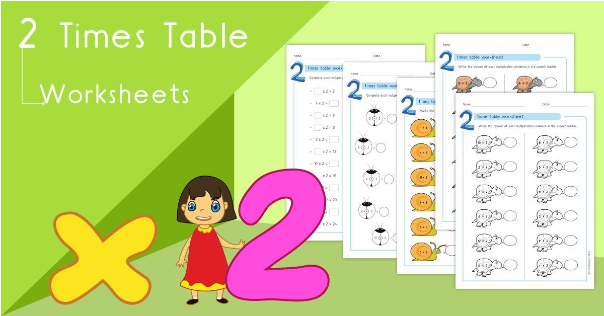 Multiplication Worksheets 2 3 4