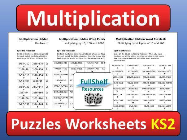 Multiplication Worksheets 6 Grade