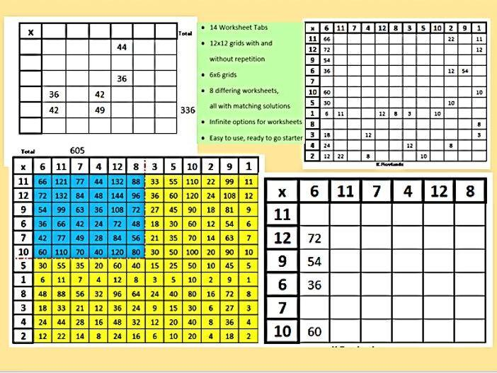 Multiplying Decimals Worksheets With Grids