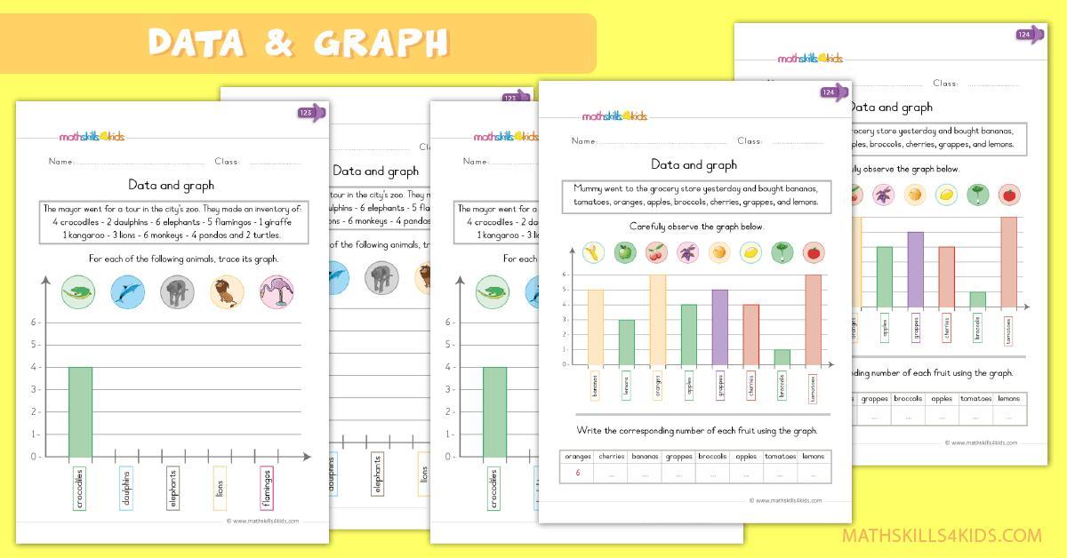 Preschool Graphing Worksheets 2