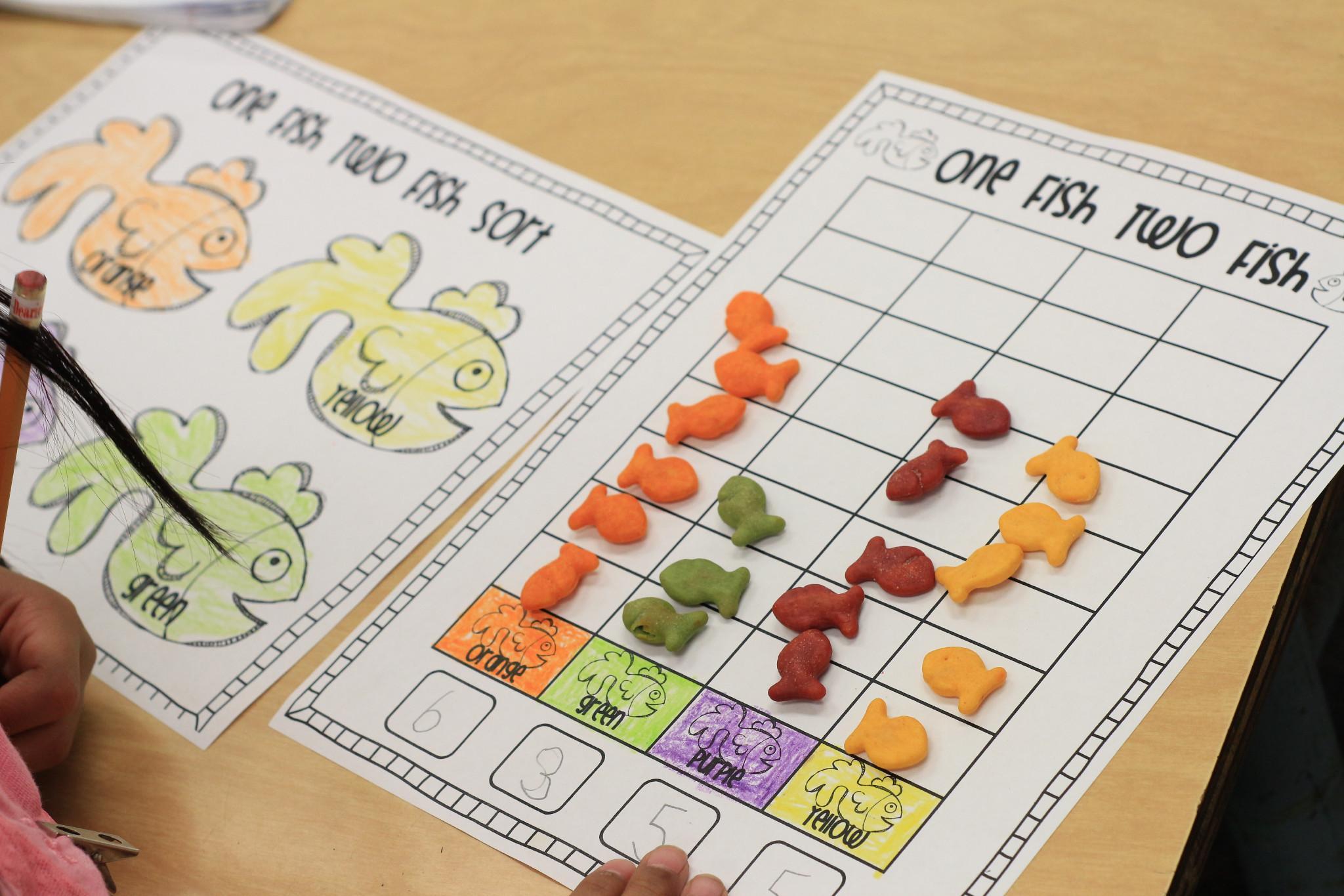 Preschool Graphing Worksheets 3