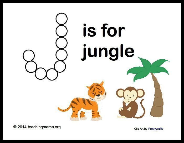 Preschool Jungle Worksheets 3