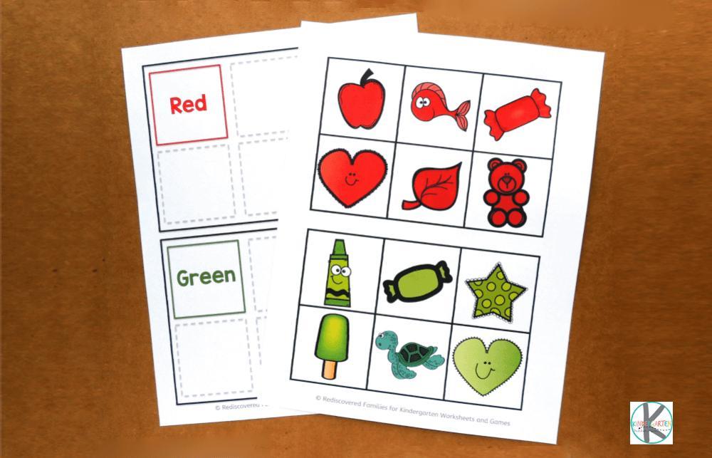 Preschool Worksheet Activities