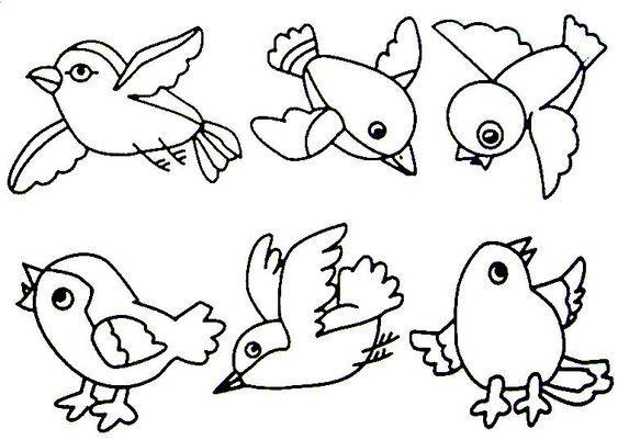 Preschool Worksheets Birds 1