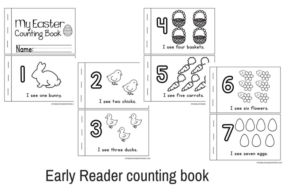 Preschool Worksheets Book 4