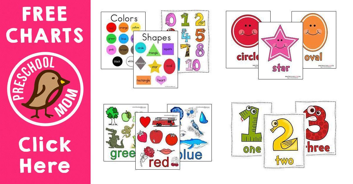 Preschool Worksheets Color Green