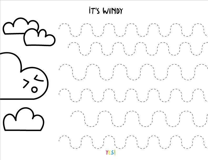 Preschool Worksheets Draw A Line 9