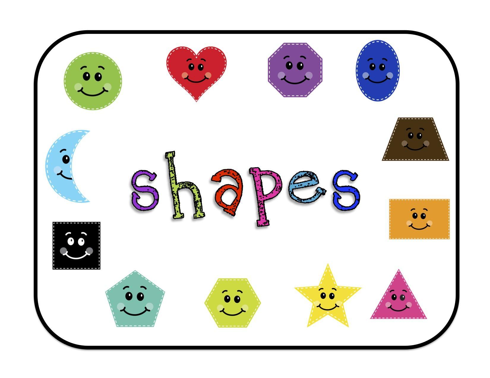 Preschool Worksheets Shapes Pdf