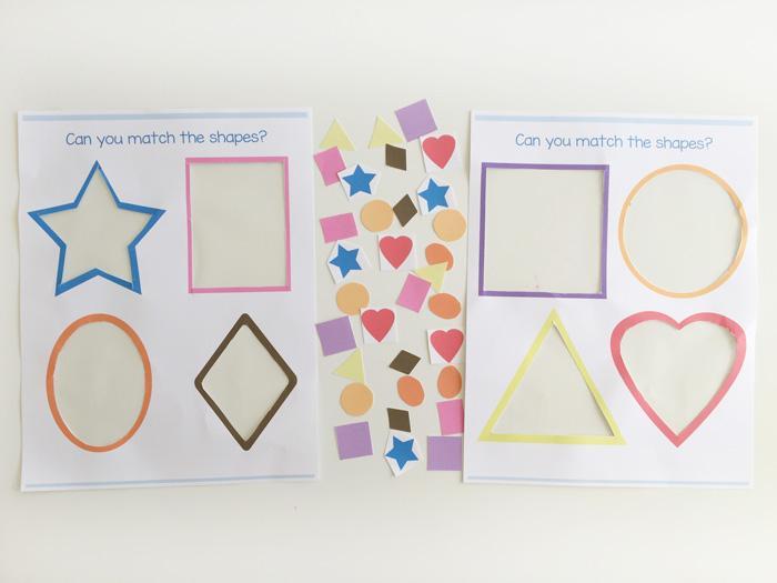 Printable Preschool Worksheets Shapes