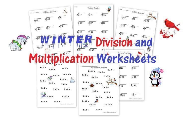 2nd Grade Math Worksheets Division And Multiplication