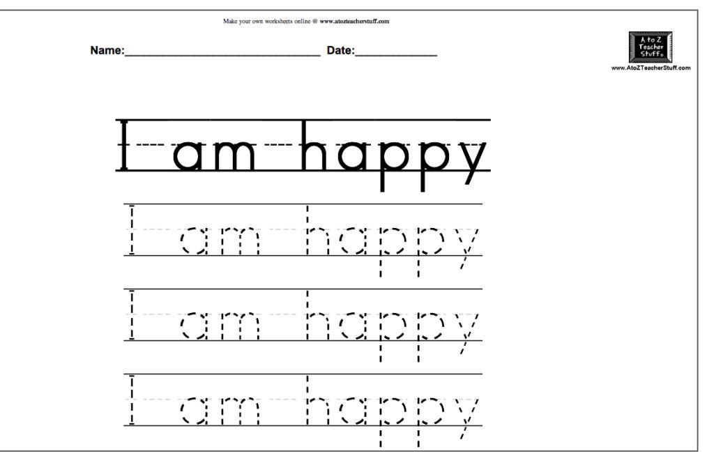 4 Year Old Preschool Printable Worksheets