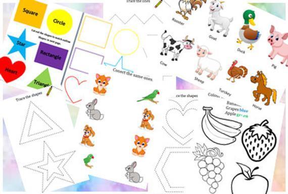 Free Preschool Worksheets For 2 Year Olds