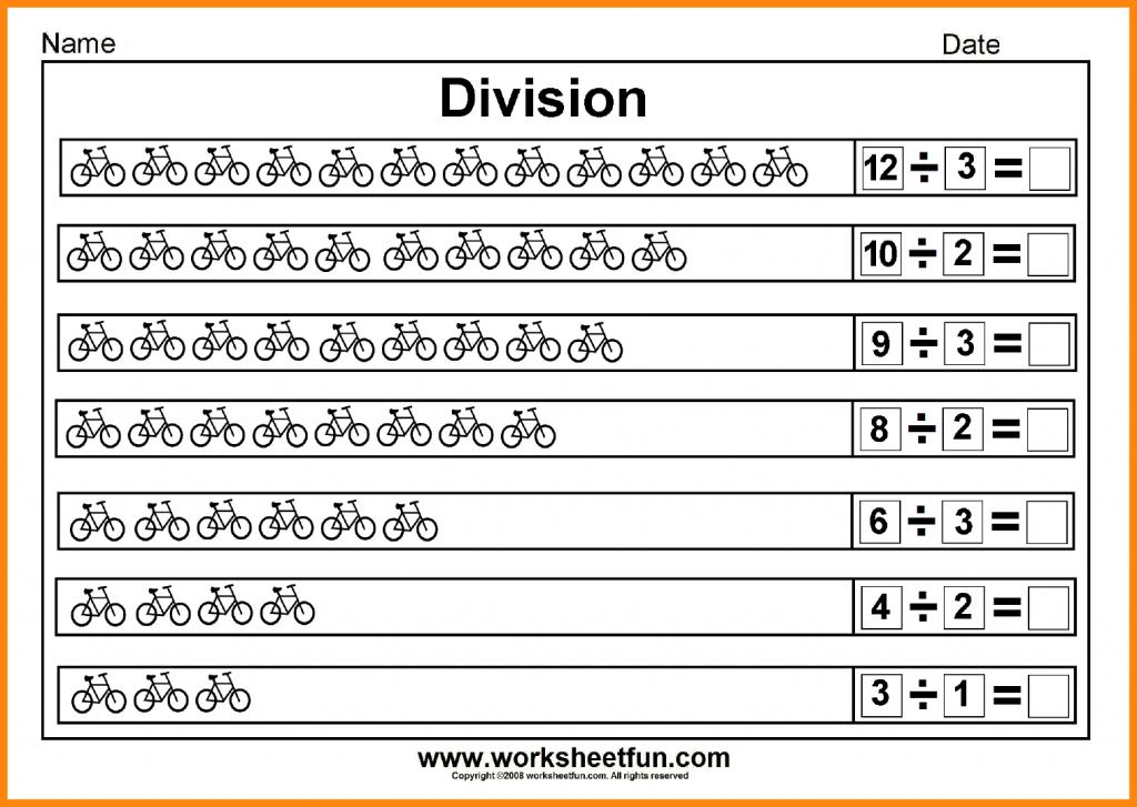 Math Worksheets Division 5th Grade