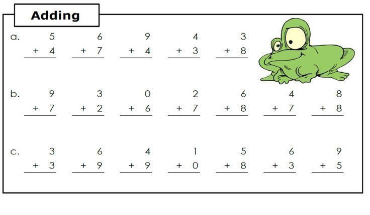 Math Worksheets Easy 1