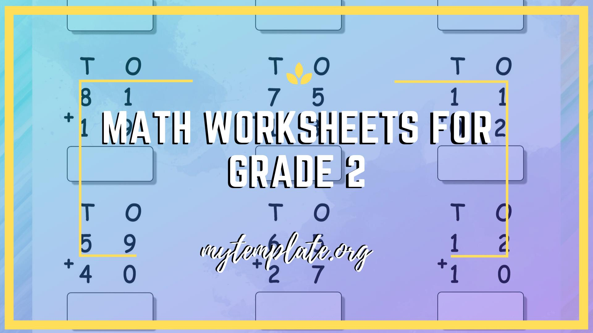 Math Worksheets For Grade 2 Subtraction With Regrouping 3 Digits
