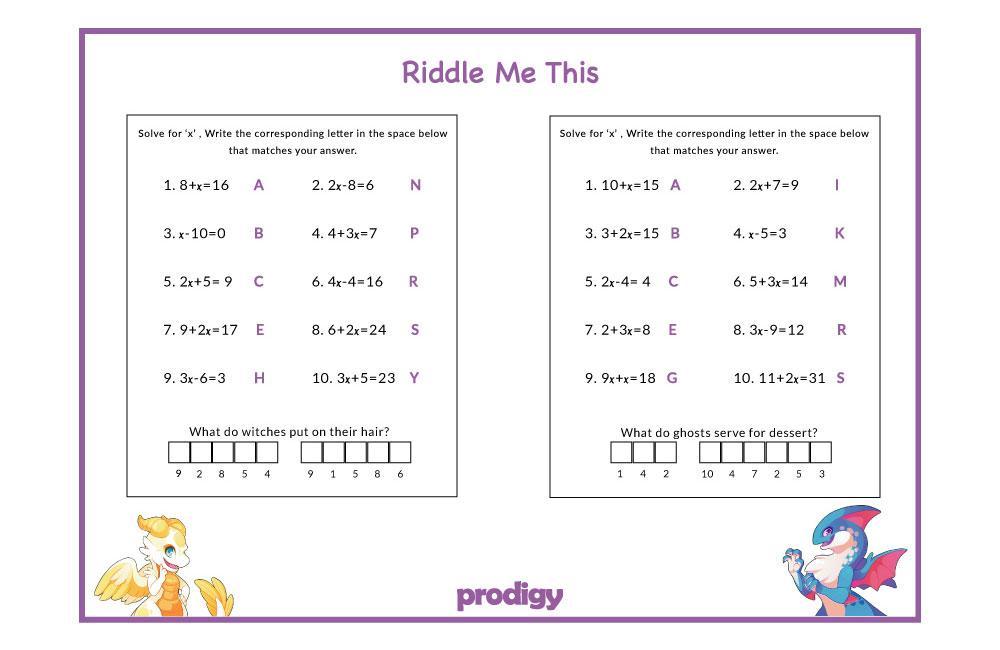 Math Worksheets Grade 4 Fractions