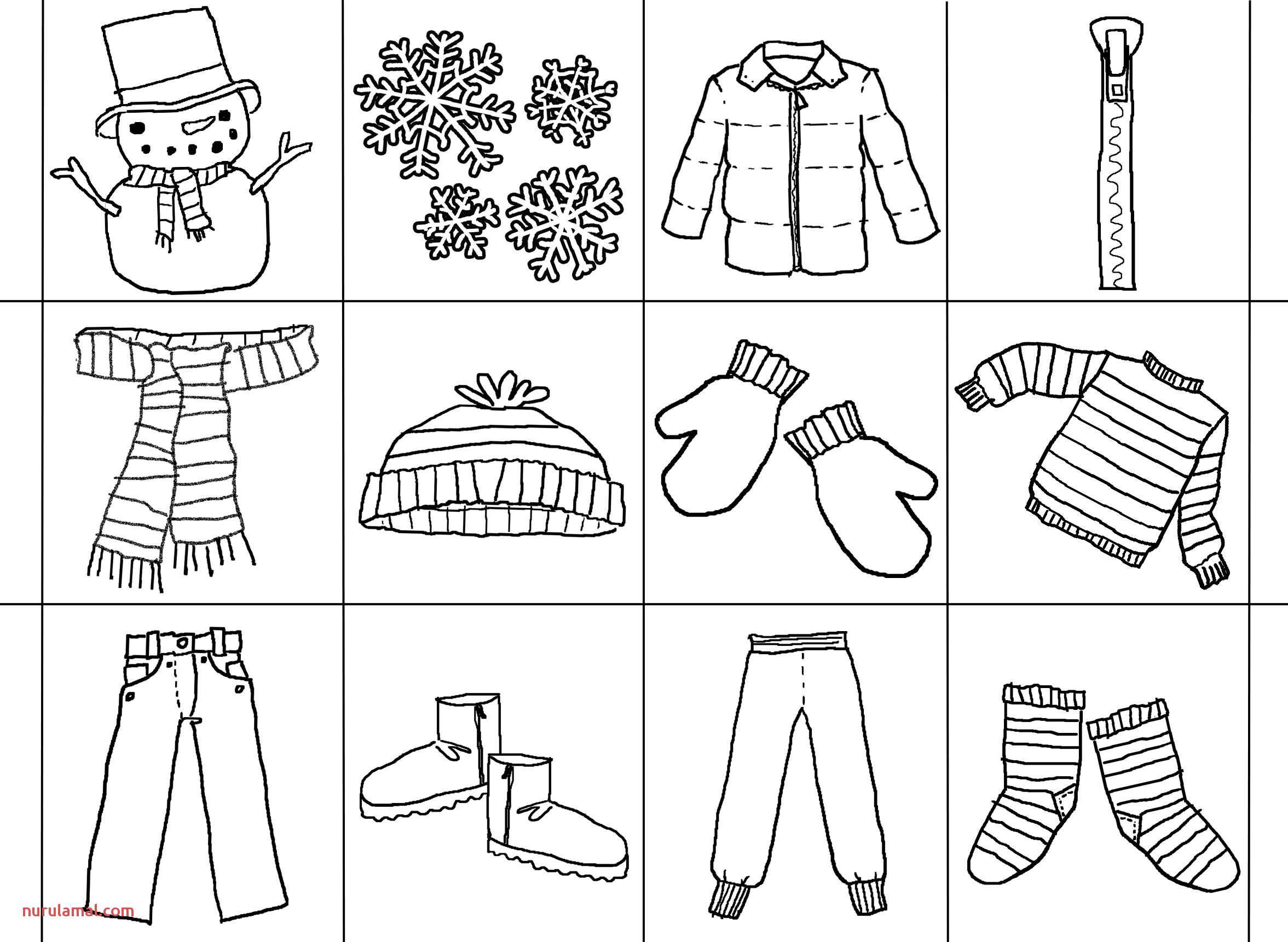 Math Worksheets Preschool Winter
