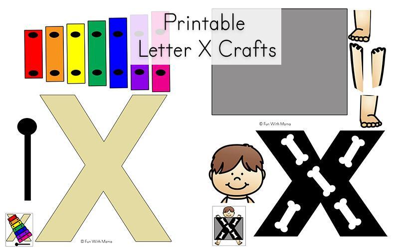 Preschool Alphabet X Worksheet 5